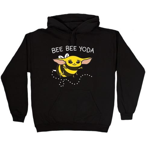 Bee Bee Yoda Hooded Sweatshirt