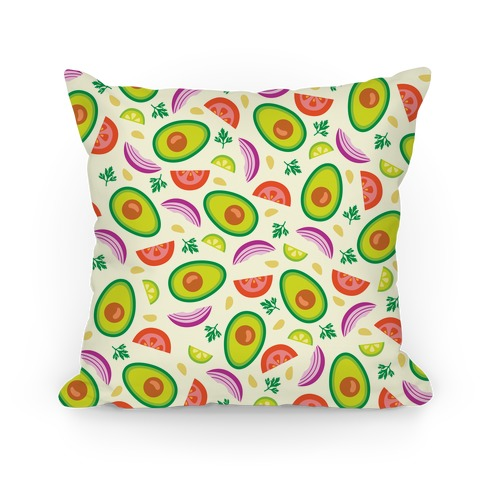 Guac Pattern Pillow