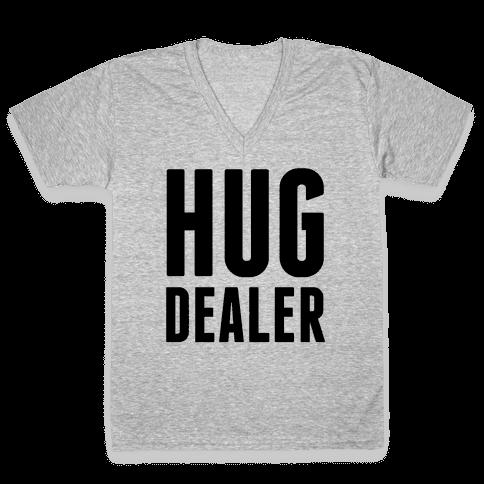 Hug Dealer V-Neck Tee Shirt