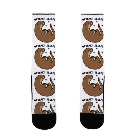 Otterly Sleepy Sock
