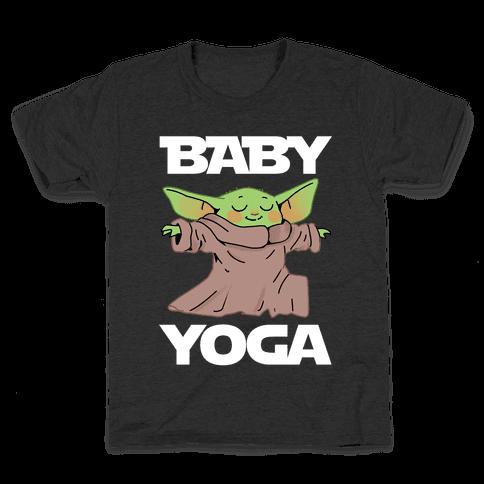 Baby Yoga Kids T-Shirt