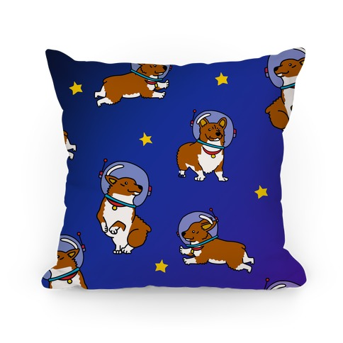 Unidentified Floating Corgi Pillow