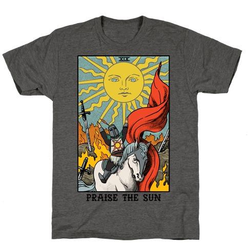 Praise The Sun Tarot Card T-Shirt