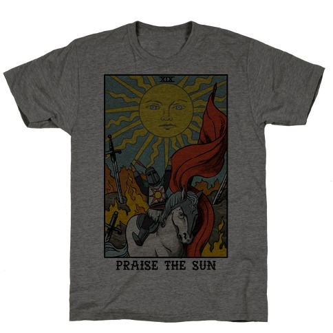 Praise The Sun Tarot Card T-Shirt