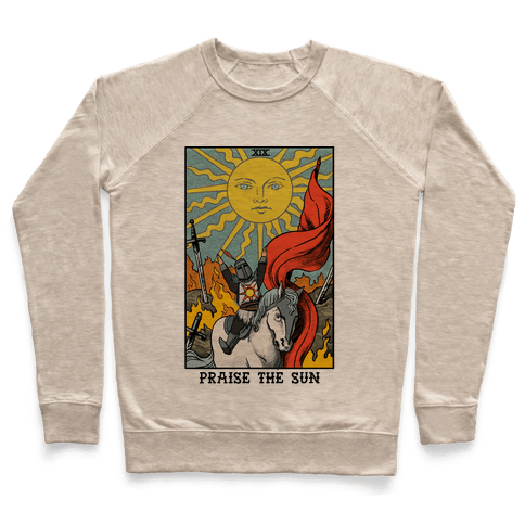 Praise The Sun Tarot Card Pullover