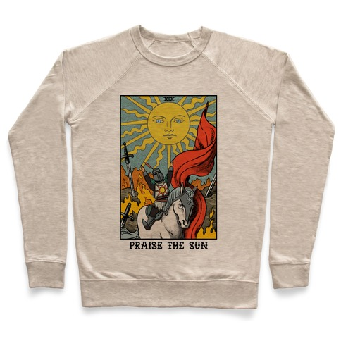 Praise The Sun Tarot Card Pullover