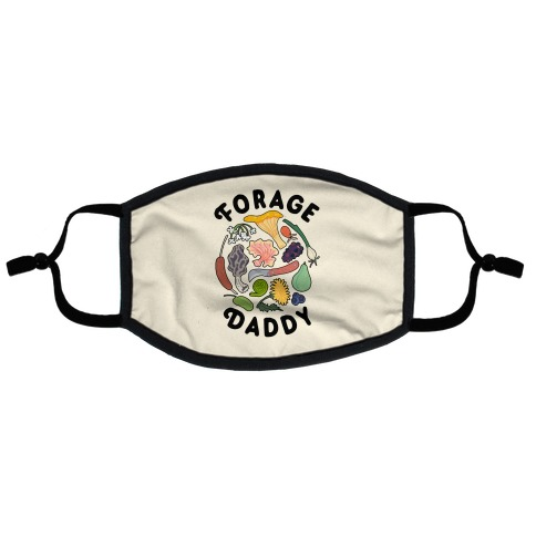 Forage Daddy Flat Face Mask