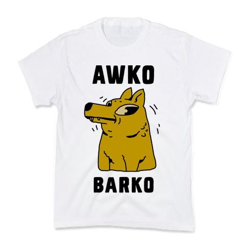 Awko Barko Kids T-Shirt