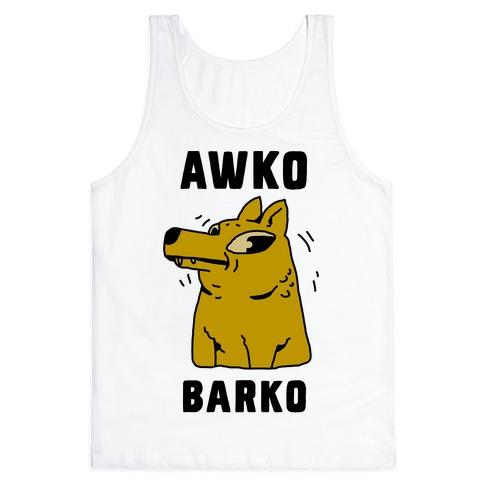 Awko Barko Tank Top