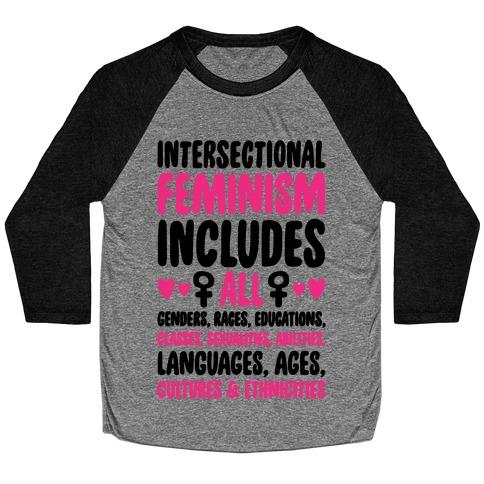 Intersectional Feminism Baseball Tee