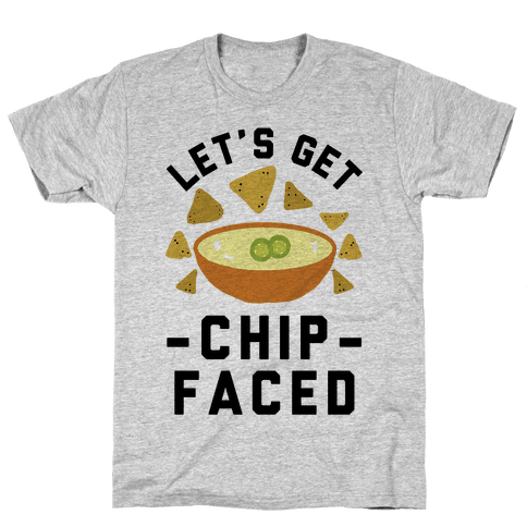 Let's Get Chip Faced Mens T-Shirt