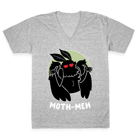 Mothmeh V-Neck Tee Shirt