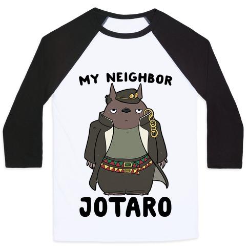 My Neighbor Jotaro Baseball Tee