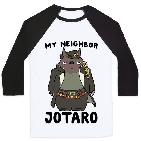 My Neighbor Jotaro Baseball Tee