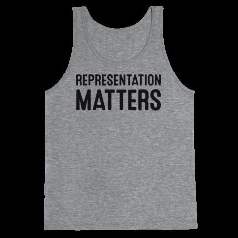 Representation Matters Tank Top