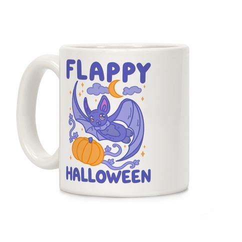 Flappy Halloween Bat Coffee Mug