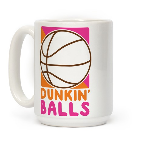 Dunkin' Balls - Basketball Coffee Mug