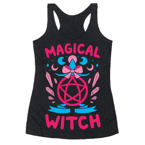 Magical Witch Racerback Tank Top