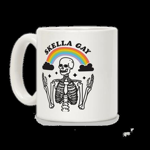 Skella Gay Skeleton Coffee Mug