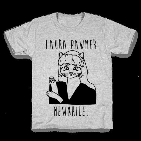 Laura Pawmer Parody Kids T-Shirt