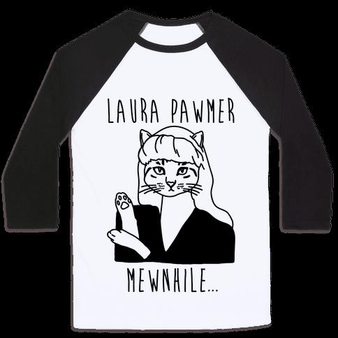 Laura Pawmer Parody Baseball Tee