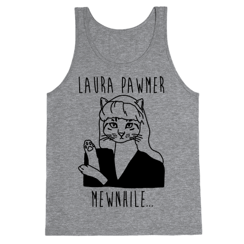 Laura Pawmer Parody Tank Top