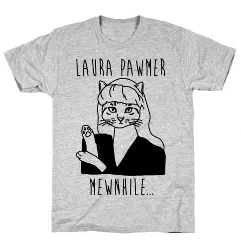 Laura Pawmer Parody Mens T-Shirt