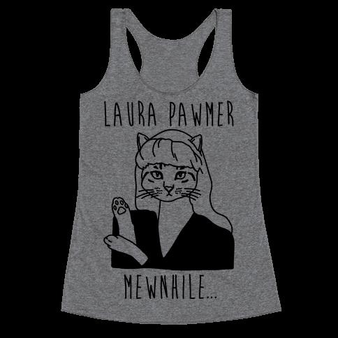 Laura Pawmer Parody Racerback Tank Top