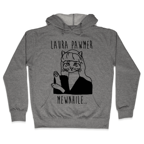 Laura Pawmer Parody Hooded Sweatshirt