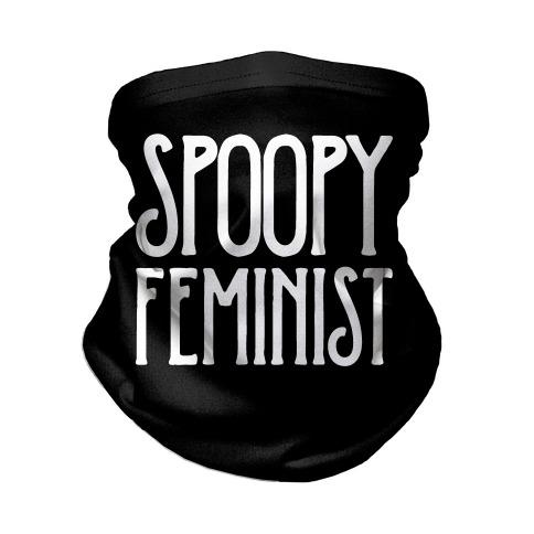 Spoopy Feminist Neck Gaiter