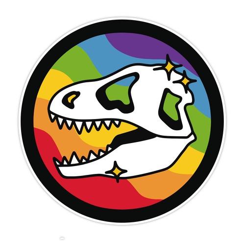 Dinosaurs Were Gay Die Cut Sticker