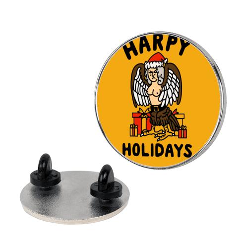 Harpy Holidays pin