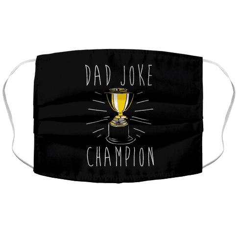 Dad Joke Champion Face Mask Cover