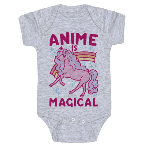 Anime Is Magical Baby Onesy
