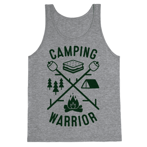 Camping Warrior Tank Top