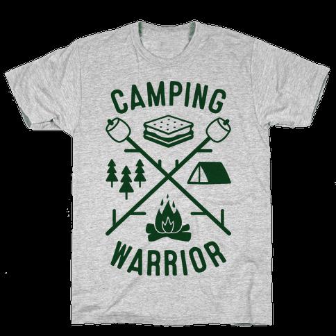 Camping Warrior Mens T-Shirt