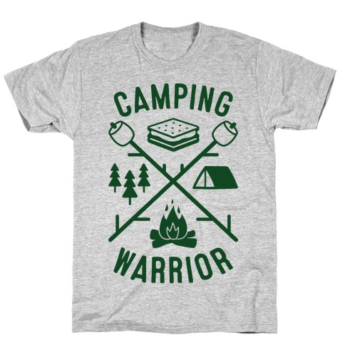 Camping Warrior Mens T-Shirt