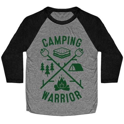 Camping Warrior Baseball Tee