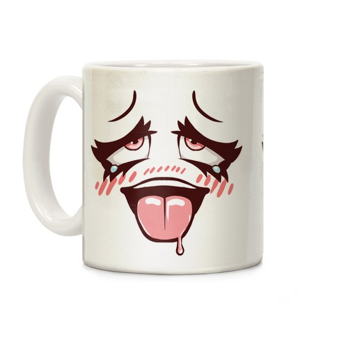 Ahegao Face Coffee Mug