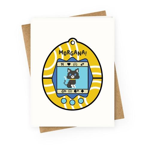 Morgana Digital Pet Greeting Card