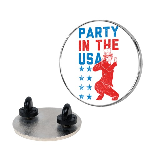 Party In The USA Uncle Sam pin