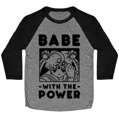 Babe With the Power Sailor Moon Baseball Tee