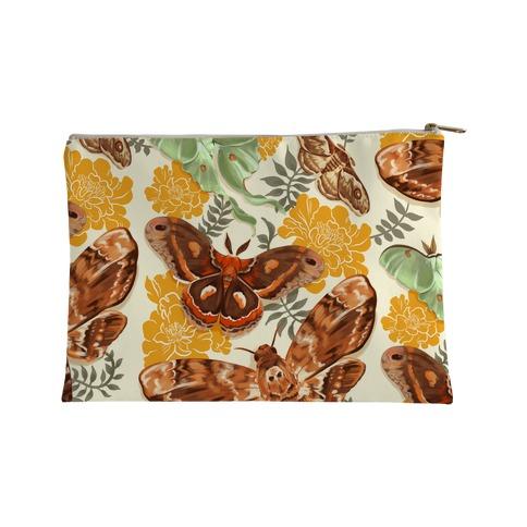 Moths & Marigolds Accessory Bag