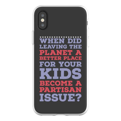 Leaving the Planet A Better Place Phone Flexi-Case
