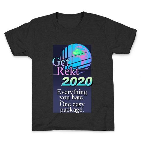 Get Rekt 2020 Retro Kids T-Shirt