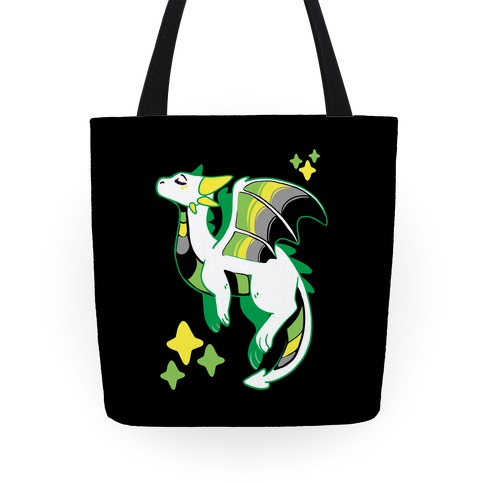 Aromantic Pride Dragon Tote