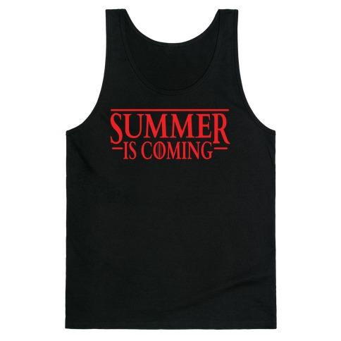 Summer Is Coming Tank Top