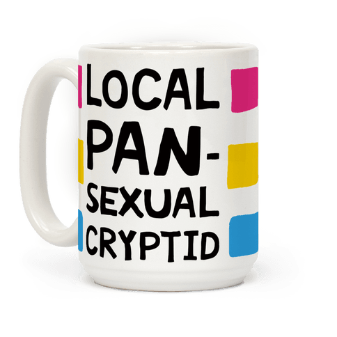 Local Pansexual Cryptid Coffee Mug