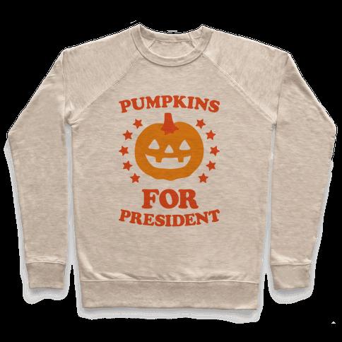 Pumpkins For President Pullover