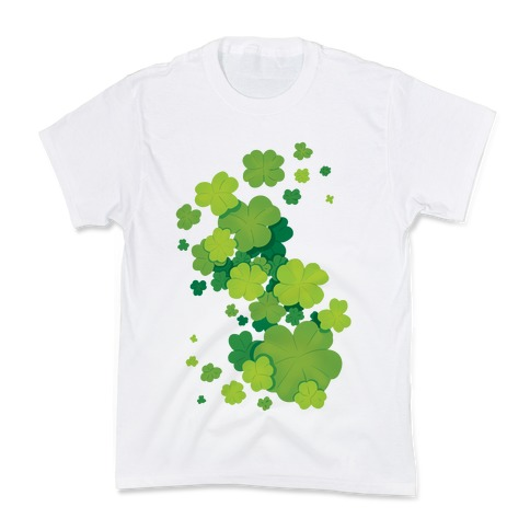 Clover Patch Pattern Kids T-Shirt